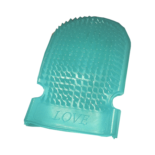 Massage Mitt Sea Foam Green