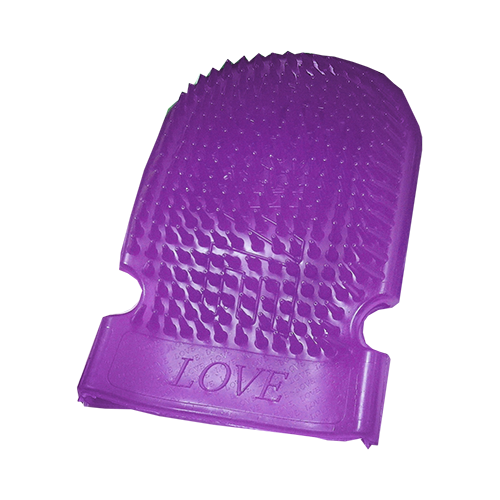Massage Mitt Light Purple