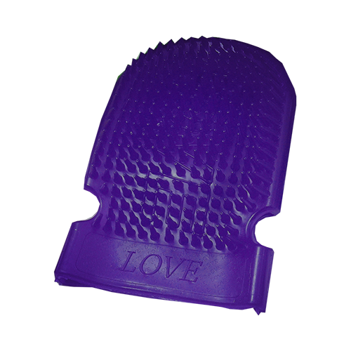 Massage Mitt Purple