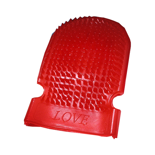 Massage Mitt Red