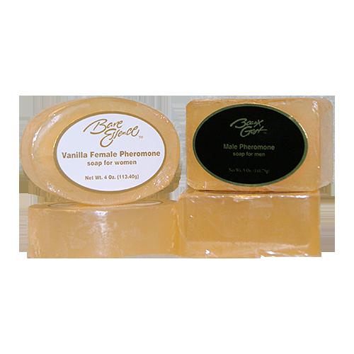 Pheromone soap