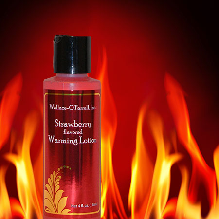 Flavored Warming Lotion